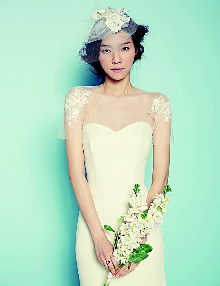 로맨틱한, 소녀적인, 심플한 웨딩드레스
