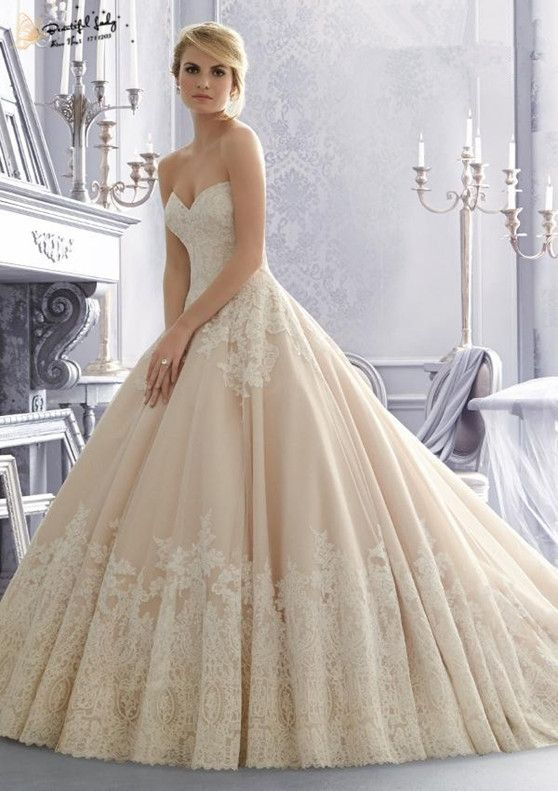 Famous Design Lace Ball Gown Vintage Wedding Dresses Sweetheart Plus Size Women Dress Custom Made