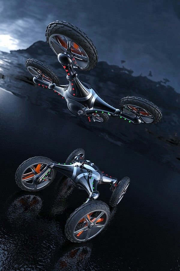 Imagine this as an actual hover bike.
