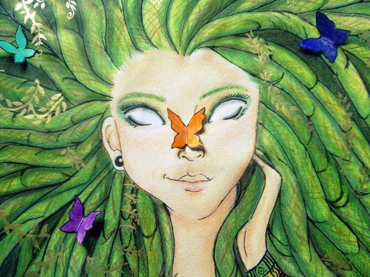 #Mae #Natureza #Rasta #Dread #Natural #Free #Surrealismo ...
