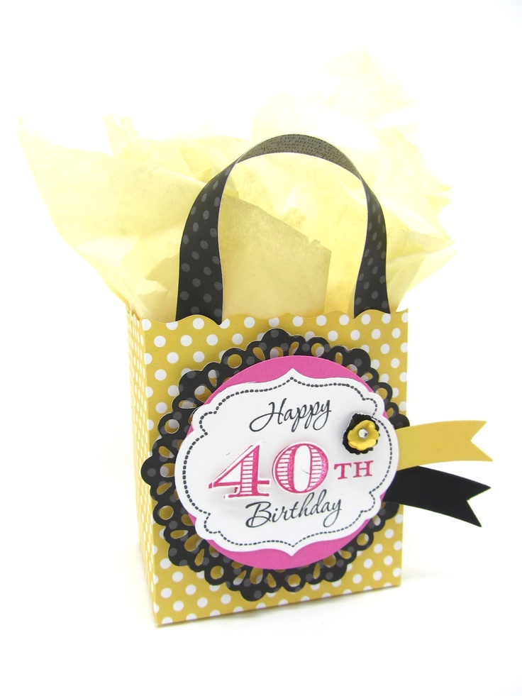 Love the layers with the SU Delicate Doily Die at PinkBlingCrafter: Happy 40th Birthday!!!!