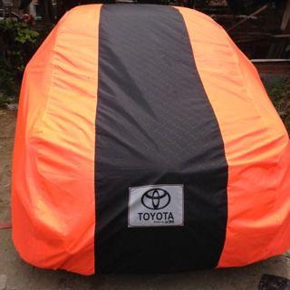 Cover Mobil Toyota Orange and Black Combination, Body fit, Elegan, cocok untuk Toyota anda. SMS/WA/CALL: 082333400200 BBM : 2a9bacab