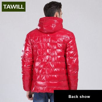 TAWILL Merk 2016 Nieuwe Mode eendendons winterjas Mannen Fall Winter Casual Jassen merk kleding JSY128 2