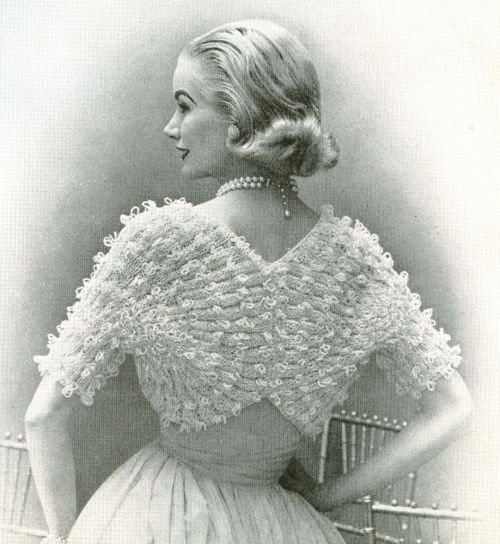 Knitting Vintage Things : Best vintage wedding knitted items images on pinterest