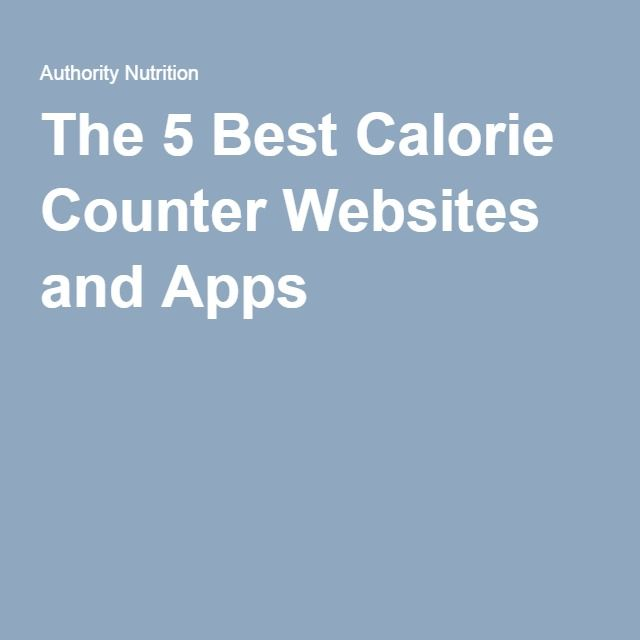 1000+ ideas about Best Calorie Counter on Pinterest | Calorie Counter ...