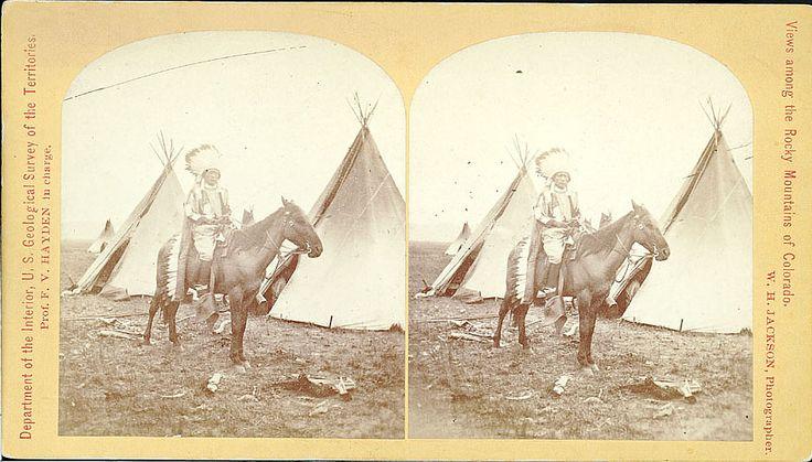 Колорадо, Скалистые горы, 1874 год.