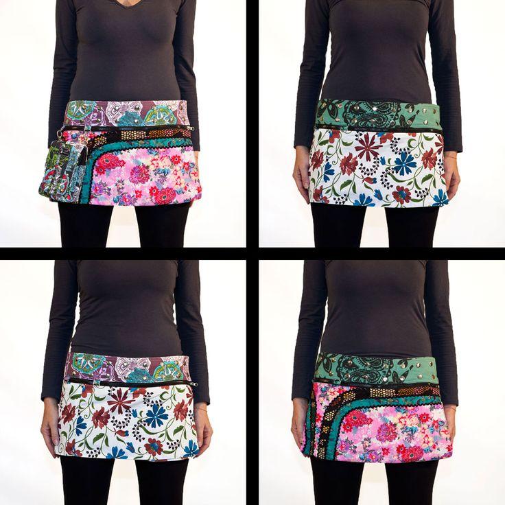 Las 4 opciones de falda estampada