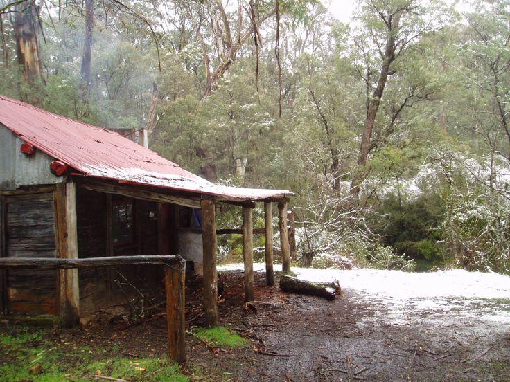 Ritchies hut, 14 Mile Creek, Howqua Valley, Vic