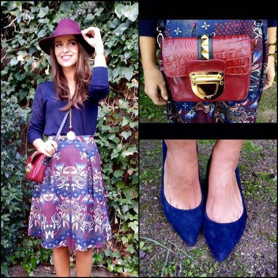 Paula Echevarría con zapatos @coolthesack @zieloshopping