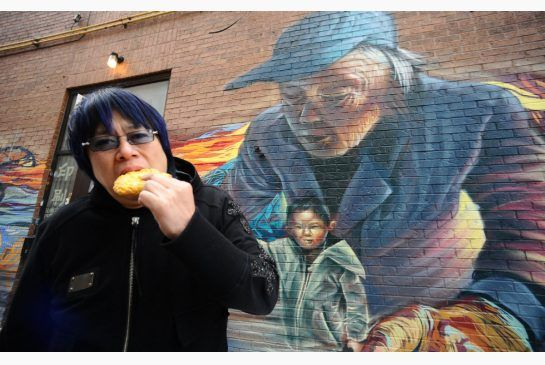 Chinese Almond Cookies  Hong Kong/London chef Alvin Leung, who's a judge on MasterChef Canada, steps into an alley in Toronto's downtown Chinatown during a search for almond cookies.