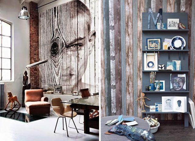 Las 25 mejores ideas sobre paredes paneles de madera en for Paneles madera paredes interiores