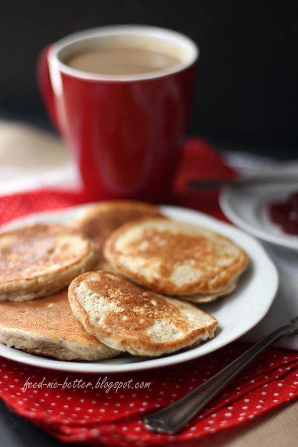 Feed Me Better: Dietetyczne placuszki (pancakes).