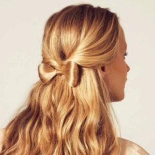 Cool hair bow: Hair Ideas, Hairbows, Cute Bows, Bows Ties, Makeup, Long Hair, Bows Hairstyles, Hair Bows, Hair Style