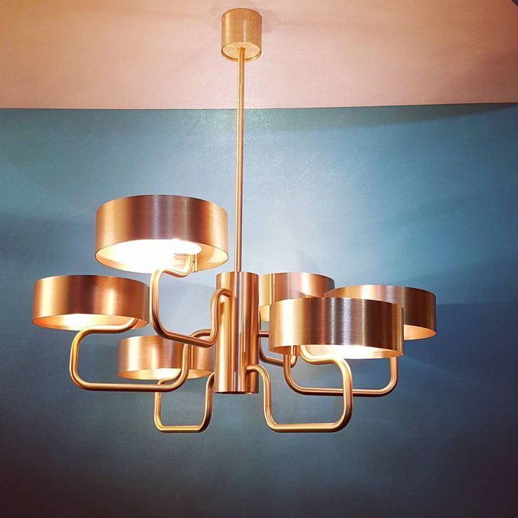 """32 Likes, 1 Comments - Mairi Beautyman (@mbeautyman) on Instagram: """"Masiero's Sound #lighting collection is influenced by the brass section of an orchestra…"""""""