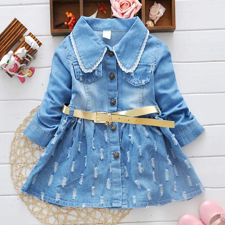 $16.90 (Buy here: https://alitems.com/g/1e8d114494ebda23ff8b16525dc3e8/?i=5&ulp=https%3A%2F%2Fwww.aliexpress.com%2Fitem%2FKids-Long-Sleeve-Lace-Cowboy-Dress-Autumn-Girls-Lovely-Blue-Dress-Child-Casual-Denim-Dress-Children%2F32545721570.html ) Kids Long Sleeve Lace Cowboy Dress Autumn Girls Lovely Blue Dress Child Casual Denim Dress Children's wear for 2-7 years for just $16.90