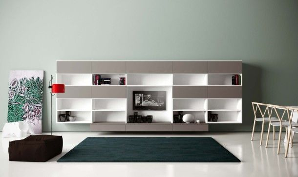 Design Wohnwand Straight ~ 1000+ images about Creative Contemporary Wall Shelving Units on