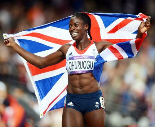 Team GB Medals 2012  30. Christine Ohuruogu - SILVER  (Athletics: Women's 400m)