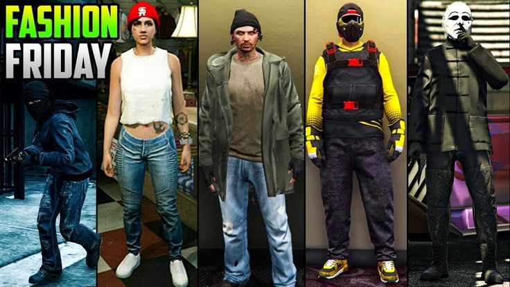 GTA 5 Online FASHION FRIDAY! (Undercover Cop, The Hobo, Killer Jester & More) - http://somecosmiclove.com/gta-5-online-fashion-friday-undercover-cop-the-hobo-killer-jester-more/