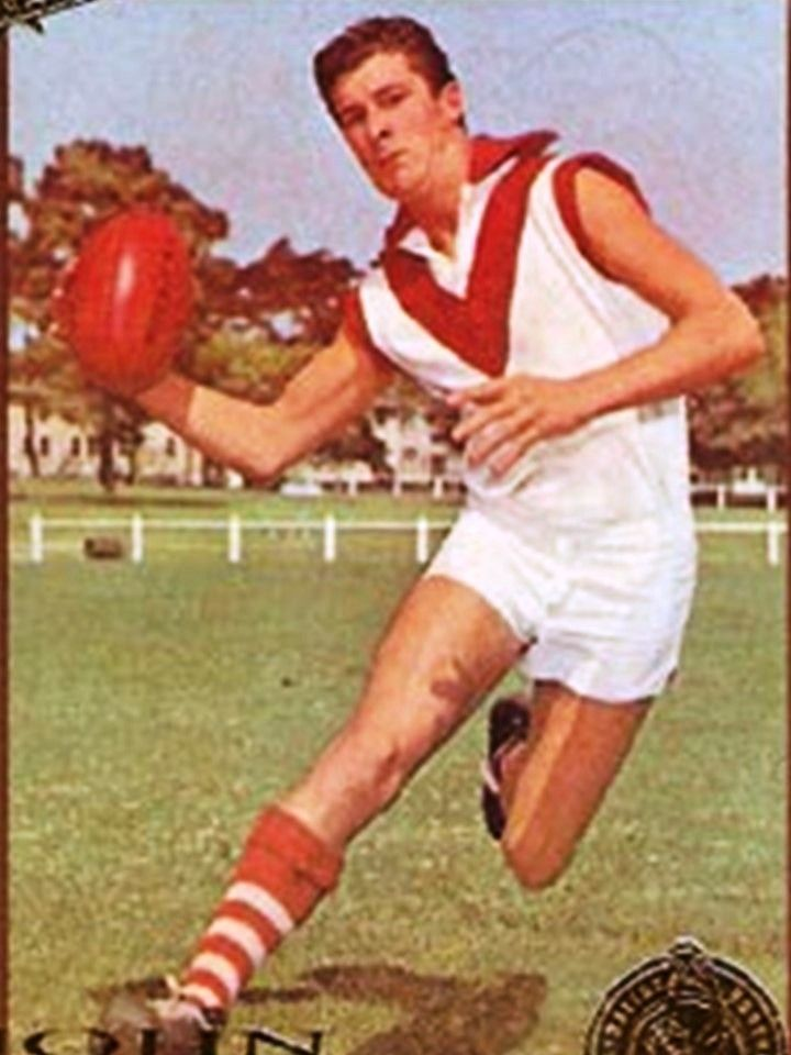 John Rantall. Played 1963-1980. Games South Melbourne 260, North Melbourne 70, Fitzroy 6. Premiership player North Melbourne 1975.