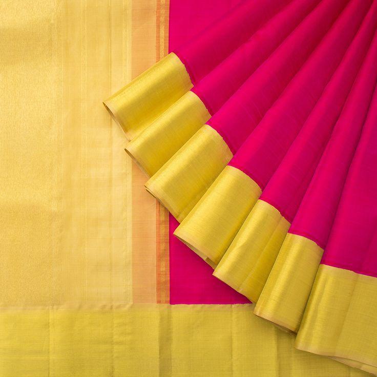 Kanakavalli Handwoven Kanjivaram Silk Sari 1013909 - Sari / All Saris - Parisera