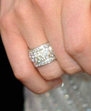 Diamond pave ring by Cartier