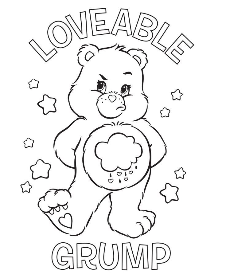 Coloring Sheets Adult Pages Books Care Bears Disney Cartoons Easter Crafts Leather Tooling Patterns Teddy