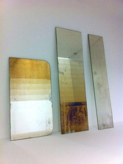 Les originaux sont hors de prix, mais peut-être réalisable par moi-même ? (Acide?)   [Transcience mirrors par David Derksen.]   http://davidderksen.bigcartel.com/product/transcience-mirror-circles  http://davidderksen.bigcartel.com/product/transience-mirror