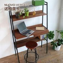 Японский стиль мебель стол компьютерный стол MUJI стиль лофт стеллаж для хранения бесплатная доставка благородный сша карты(China (Mainland))