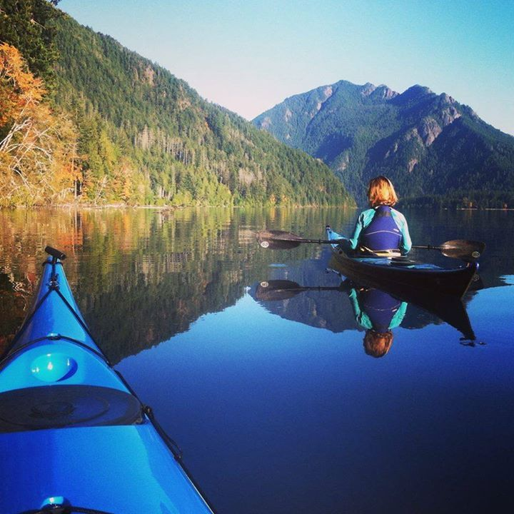 Have not gone Kayaking on this lake yet. Have been to this lake and its a HUGE lake! Lake Crescent Olympic National Park