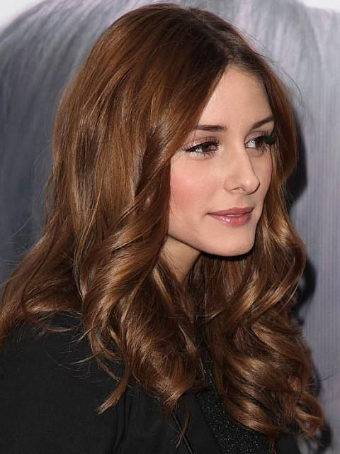 Copper Brown Hair | I have no idea who this is, but I love the color, so....pin!
