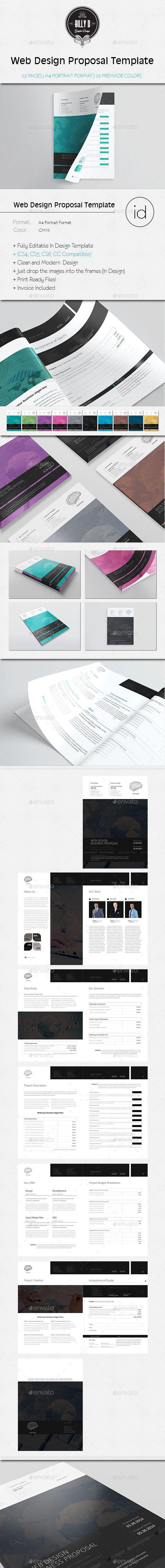 agency proposal template%0A Web Design Proposal Template    invoice  invoicetemplate   Download  http