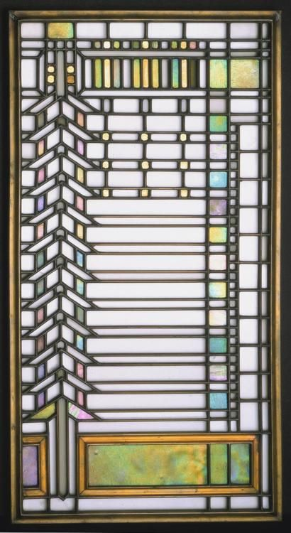 Stained Glass Window Made For The Darwin D Martin House