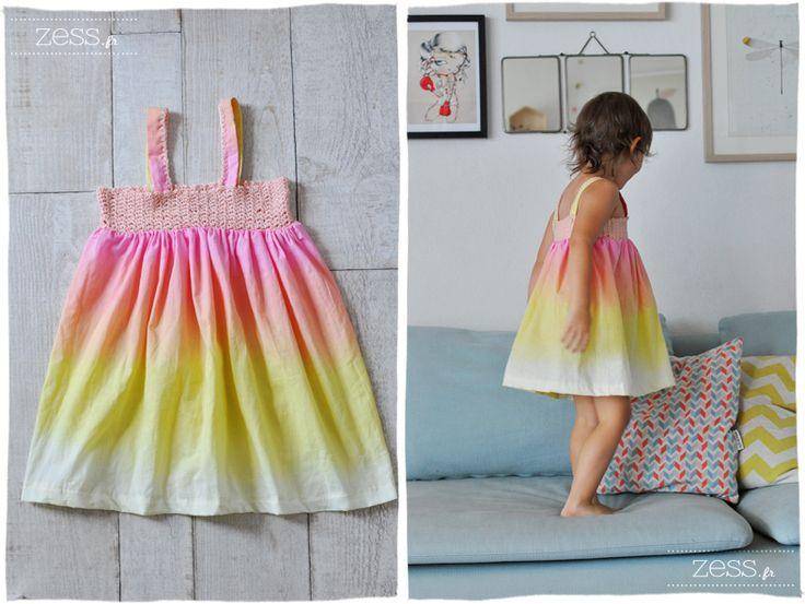 Tuto : la robe bi-goût crochet et couture - Zess.fr // Lifestyle . mode . déco . maman . DIY