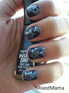 Wow, short nails can look fab!