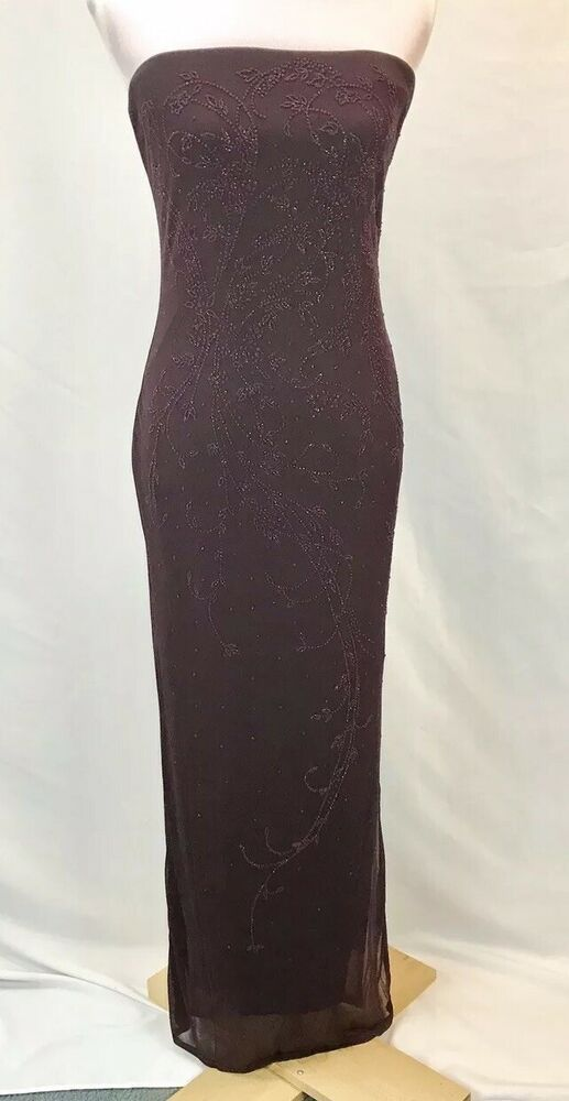 f4d1edf247b charlotte russe Strapless Full Length Dress Size L  fashion  clothing   shoes  accessories  womensclothing  dresses (ebay link)