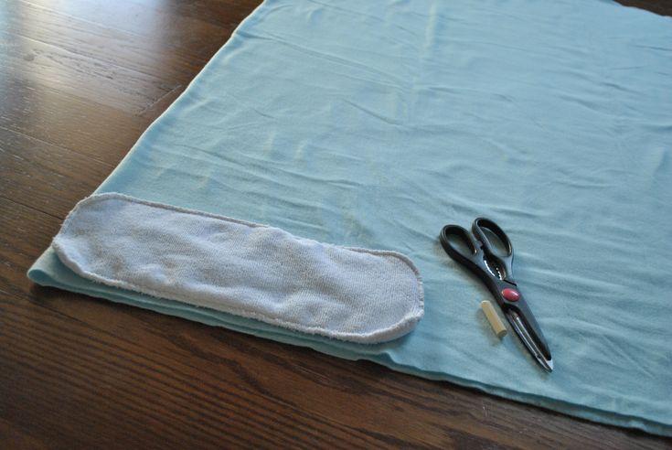 Fleece cloth diaper insert DIY