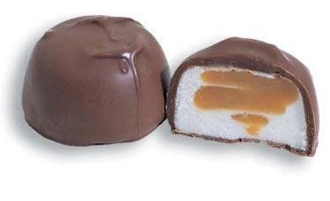Asher's Milk Chocolate Caramel and Marshmallow 1 Lb Sugar Free - http://bestchocolateshop.com/ashers-milk-chocolate-caramel-and-marshmallow-1-lb-sugar-free/