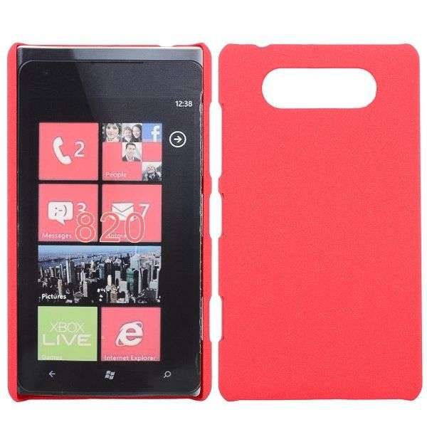 Rock Shell (Rosa) Nokia Lumia 820 Deksel