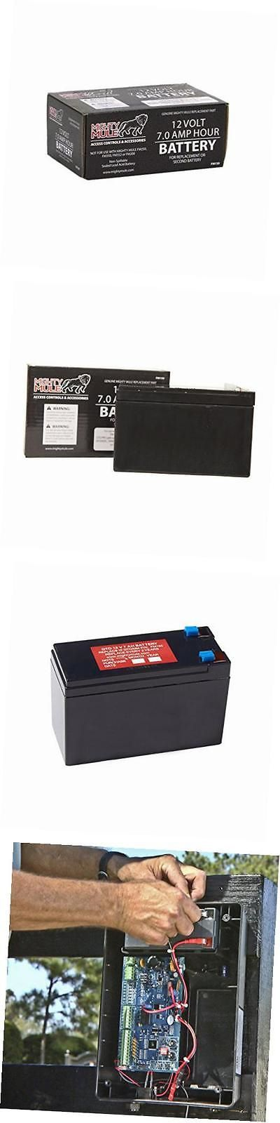 Batteries and Power Accessories: 12-Volt Battery For Automatic Gate Openers (Fm150) -> BUY IT NOW ONLY: $43.78 on eBay!
