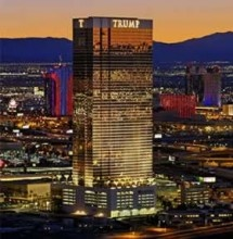 Trump Hotel Las Vegas...where we are staying for my bday!!!