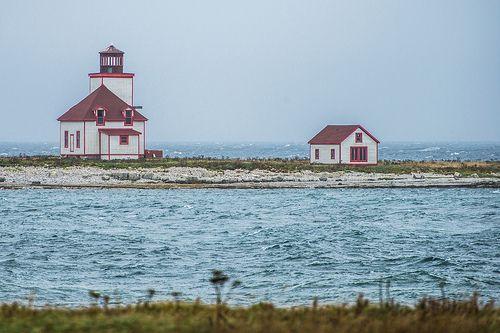 Lighthouse, Flower's Cove, Newfoundland, Canada