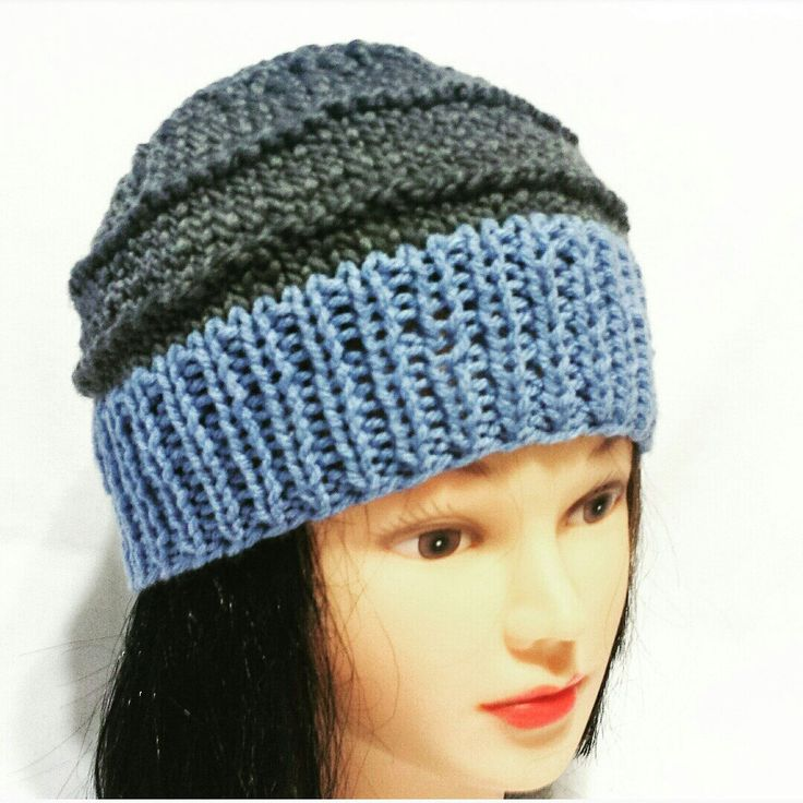 New knitted woman beanie hat design. Coming soon to my shop.