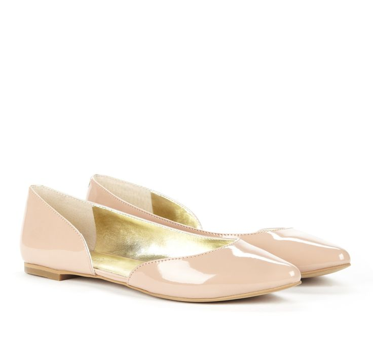 Ballerina Blush Flats  The Tres Chic