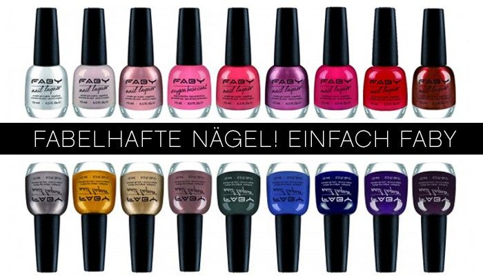 Faby: Nail Couture aus Italien » point rouge Magazin #Nagellack #Faby #Nailart #Naildesign #Farbe #bunt #OPI