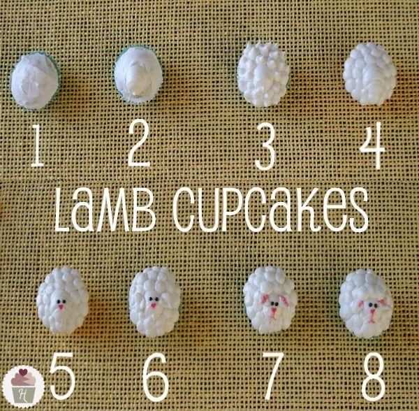 Lamb-Cupcakes