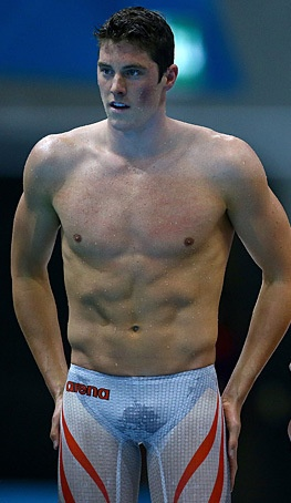Conor Dwyer, you are one good looking man....especially with those pants on, and your abs,...and your face.