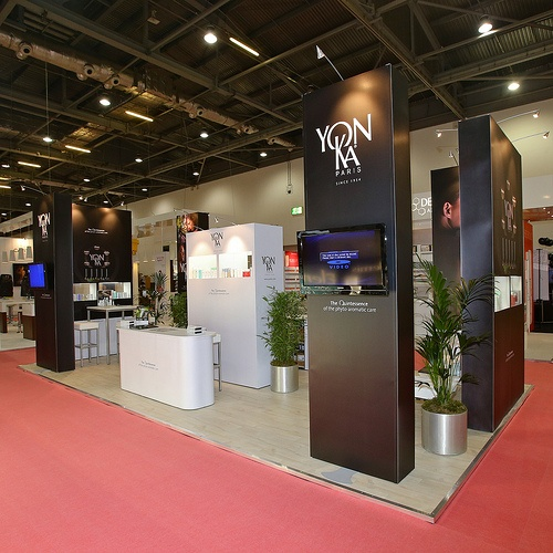 Expo Stands Eyeshadow : Prestige exhibition stand for yon ka at professional