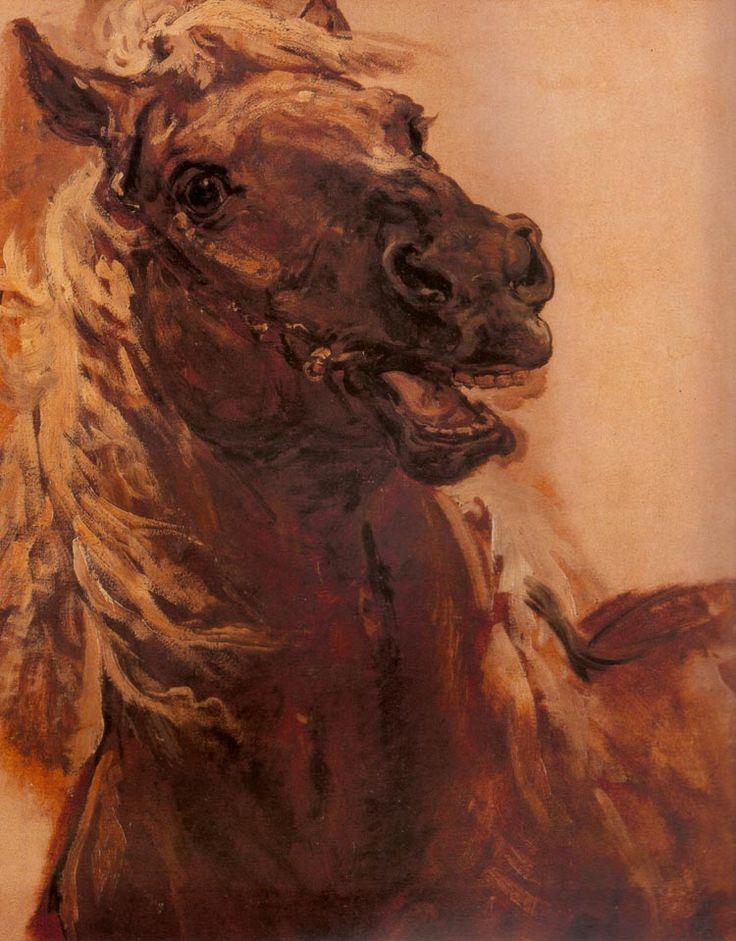 """Jan Matejko """"Horse Study"""""""