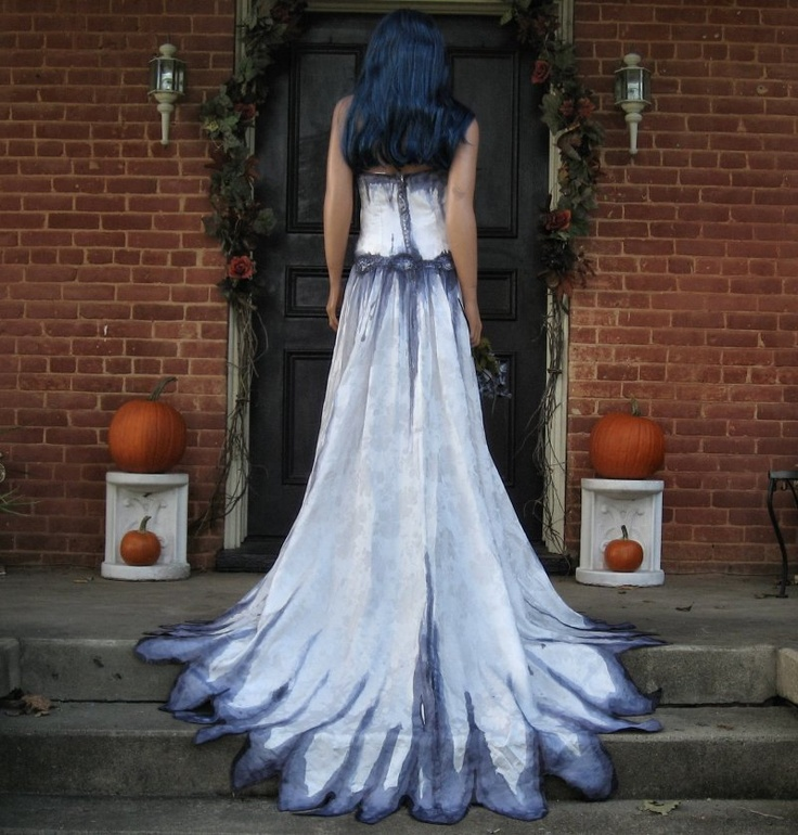 Gothic Corpse Bride Wedding Gown by TheBohemianGoddess on Etsy, $700.00