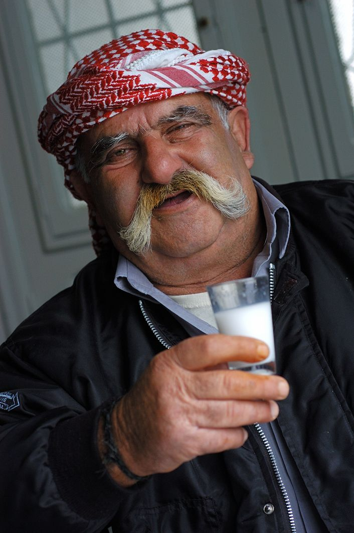 The Fun is drinking Arak with the Lebanese food